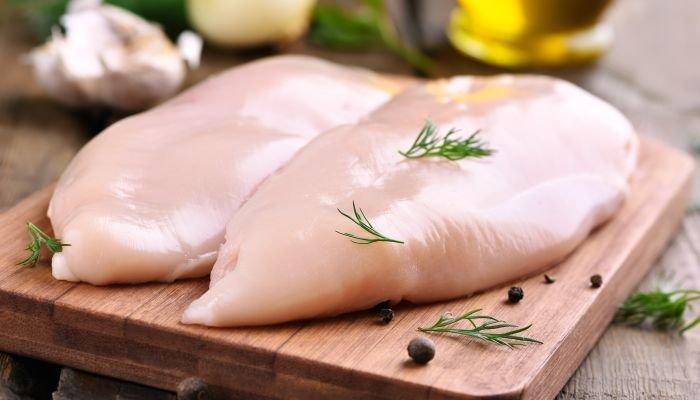 alimentos ricos em zinco frango