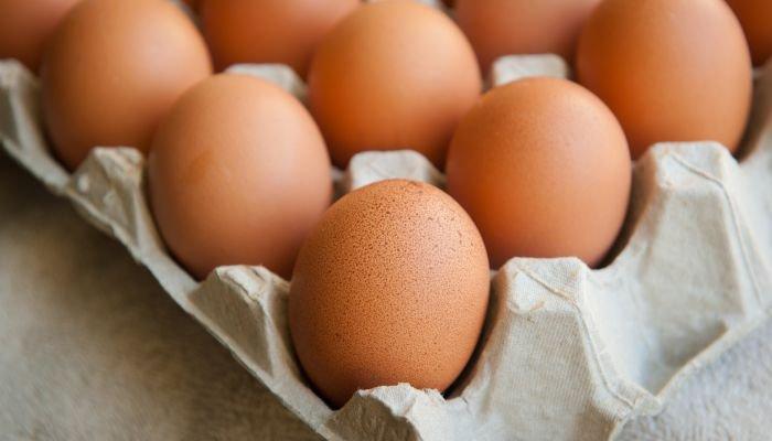 alimentos ricos em zinco ovo