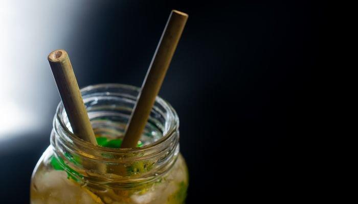 canudo ecológico bambu