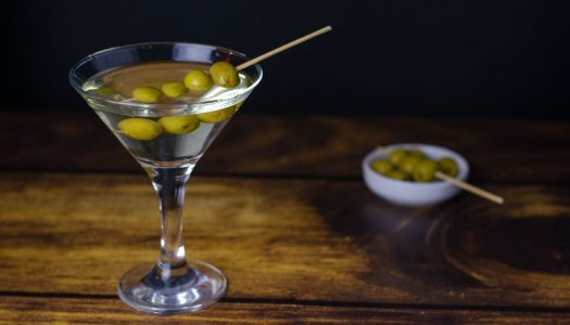 [Receita] Dirty Martini