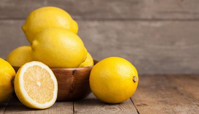 alimentos ricos em vitamina c limão