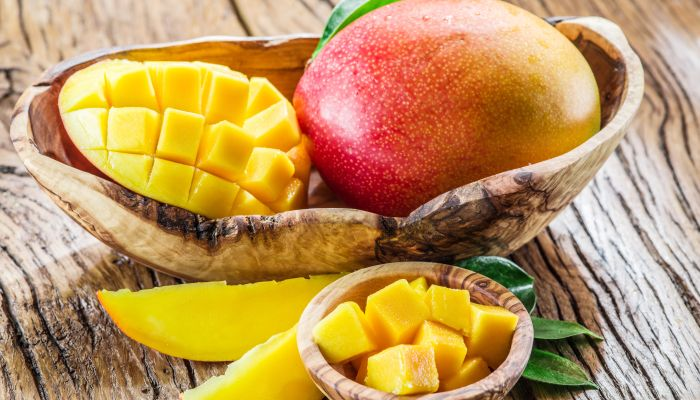 alimentos ricos em vitamina c manga