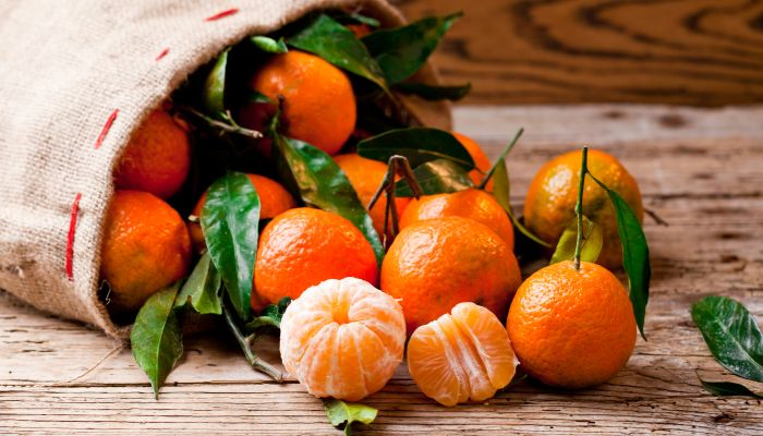 alimentos ricos em vitamina c mexerica