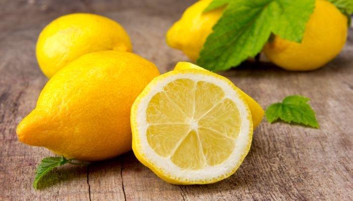 frutas cítricas limão