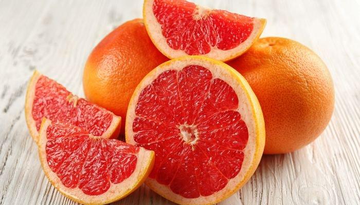 frutas cítricas toranja