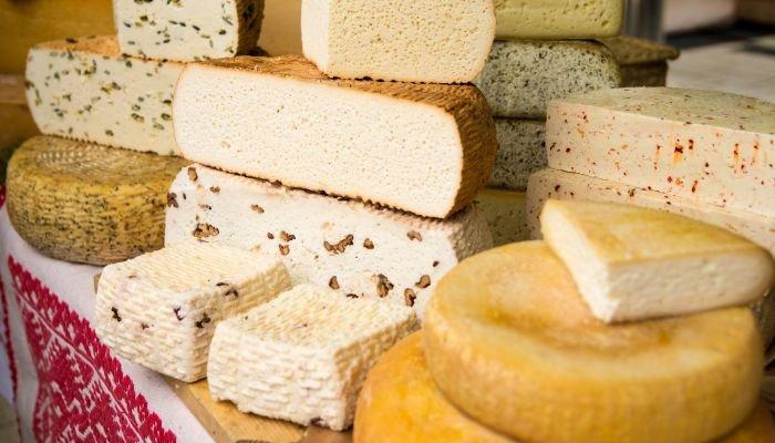 queijos artesanais tipos