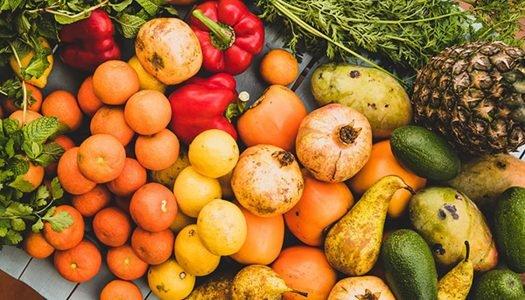 Alimentos in natura: saudáveis, sustentáveis e nutritivos até o talo