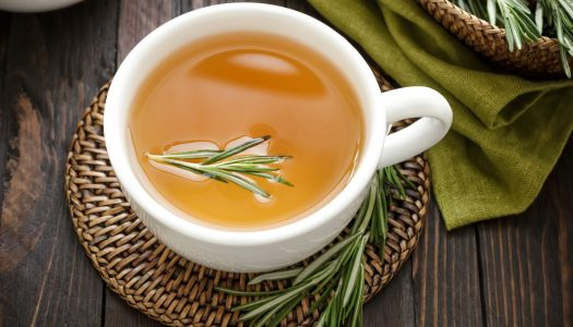 Para que serve o chá de alecrim?