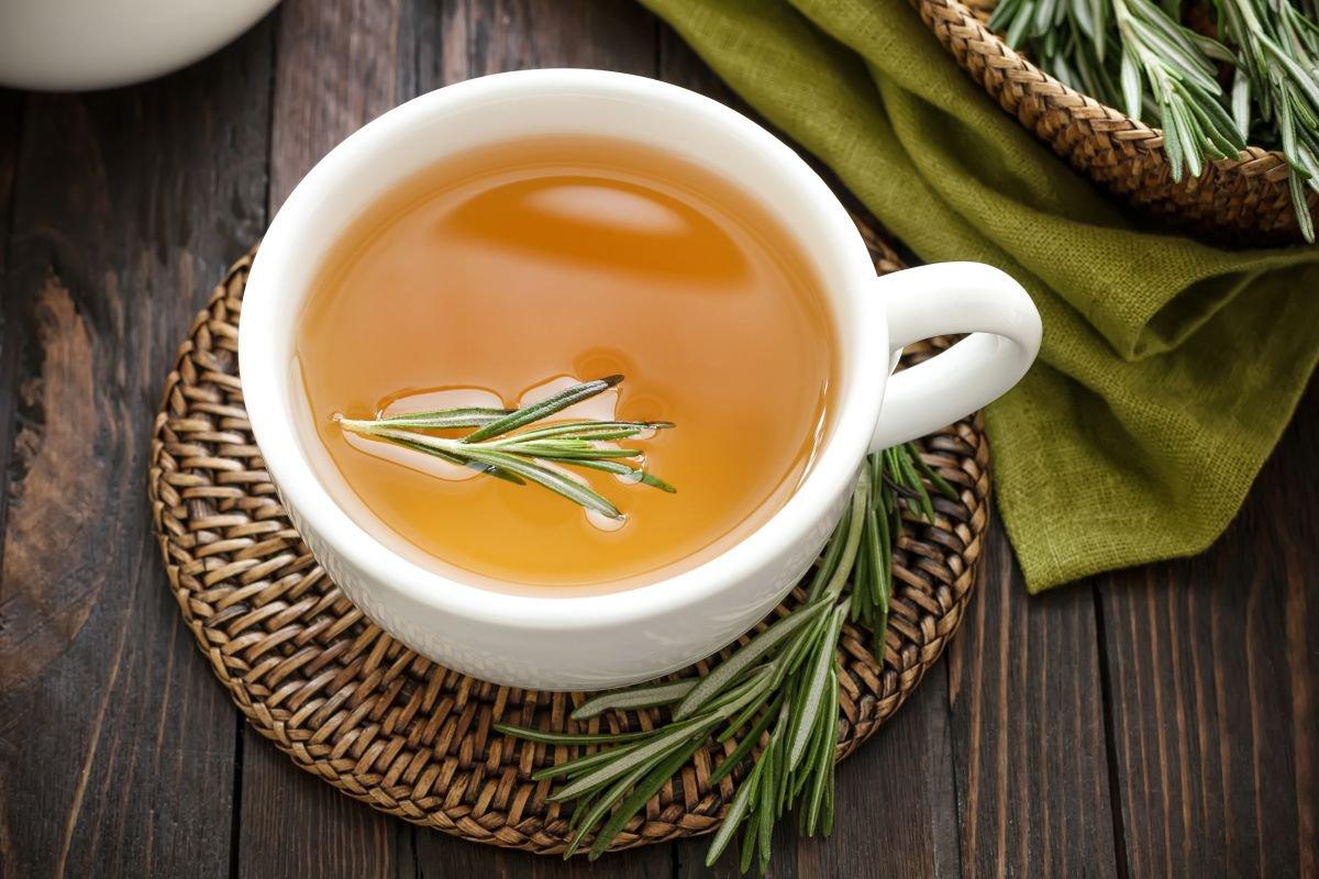 chá de alecrim capa