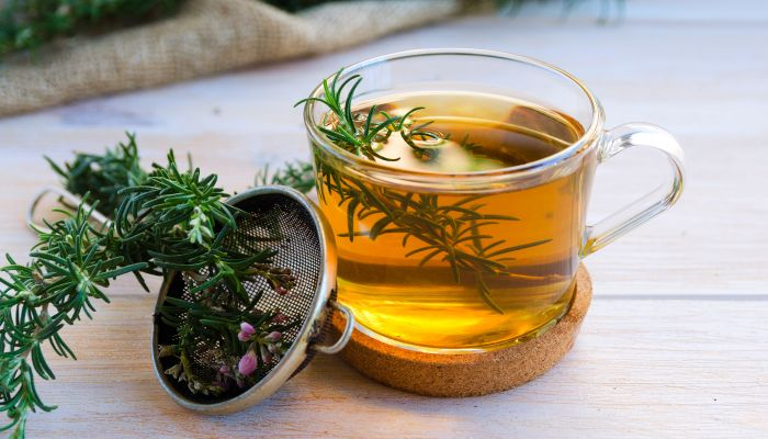 chá de alecrim filtro
