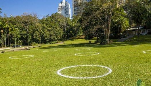 Conheça algumas iniciativas do Pão: a volta aos parques