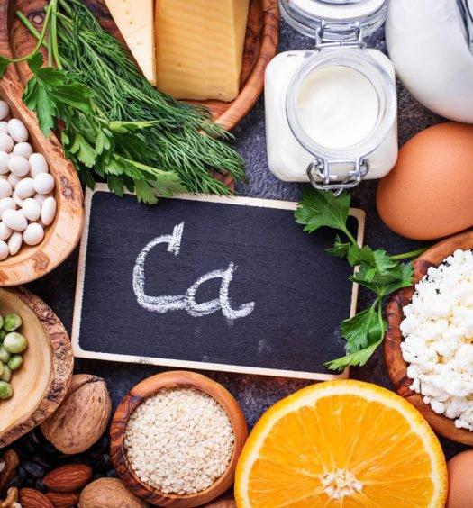 alimentos ricos em cálcio capa