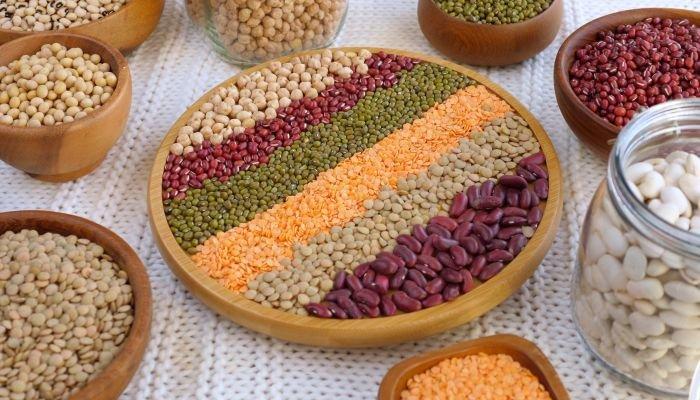 alimentos ricos em cálcio leguminosas