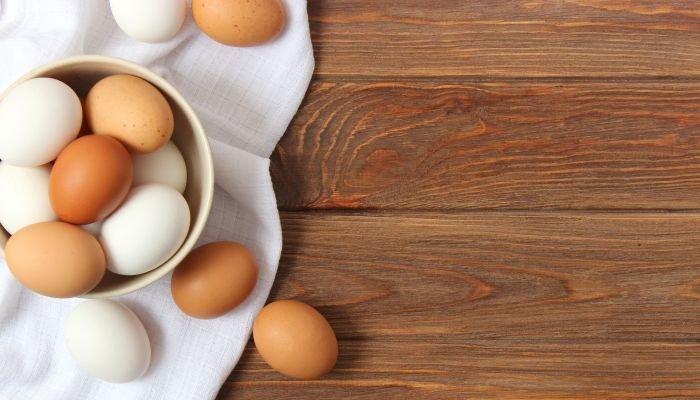 alimentos ricos em cálcio ovos