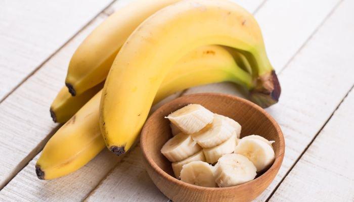 alimentos ricos em potássio banana