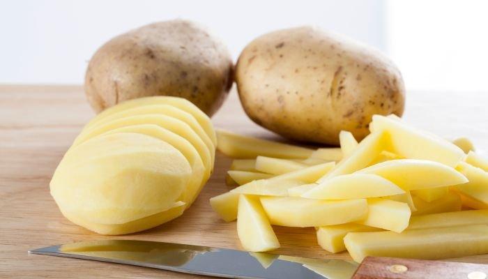 alimentos ricos em potássio batata