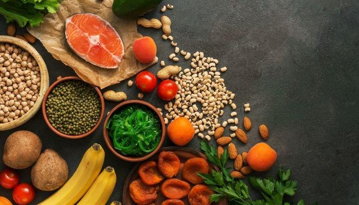 alimentos ricos em potássio ingredientes