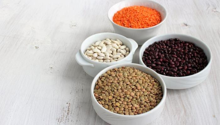 alimentos ricos em potássio leguminosas