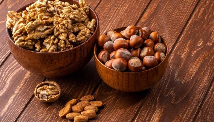 alimentos ricos em potássio oleaginosas