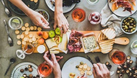 18 sugestões de petiscos para vinho