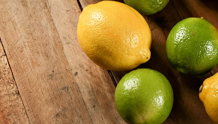 frutas low carb limão
