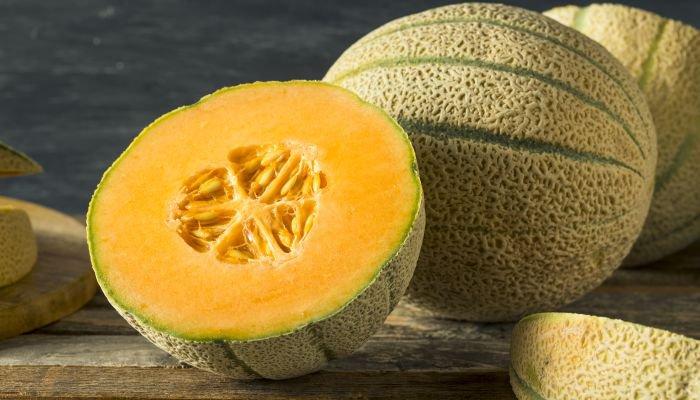 frutas low carb melão