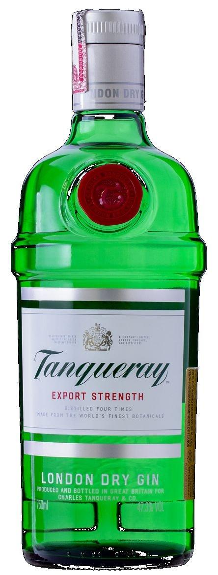 gin tanqueray novidades no pão