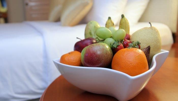 dormir melhor frutas