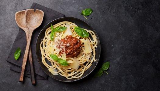 [Receita] Espaguete à bolonhesa com queijo Rembrandt