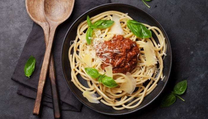 espaguete queijo rembrandt receita