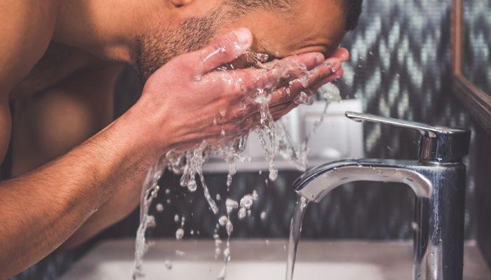 limpeza de pele masculina limpar
