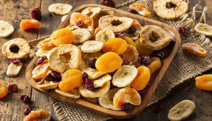 alimentos ricos em ferro frutas secas