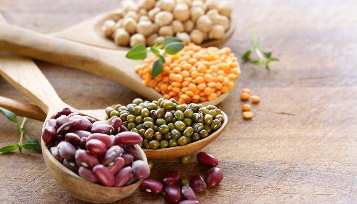 alimentos ricos em ferro leguminosas