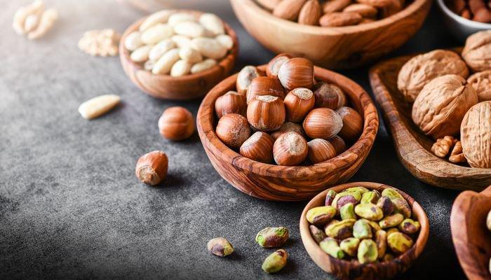 alimentos ricos em ferro oleaginosas