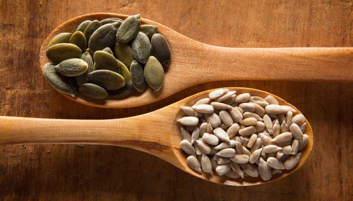 alimentos ricos em ferro sementes