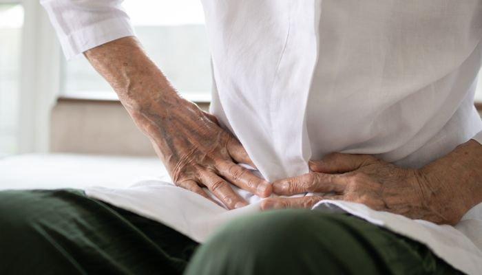 constipação intestinal dor