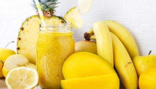 Frutas amarelas: seus benefícios e 11 sugestões para consumo