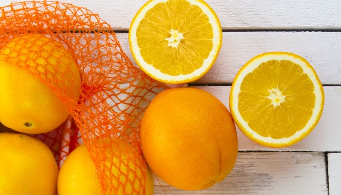 frutas amarelas laranja-lima
