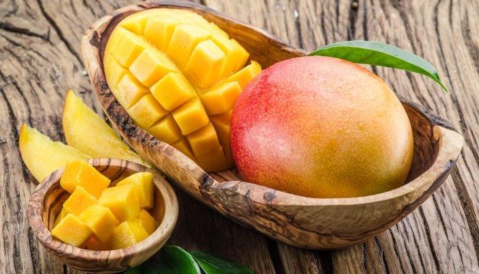 frutas amarelas manga