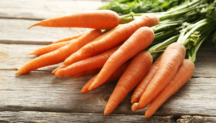 alimentos bons para a pele cenoura
