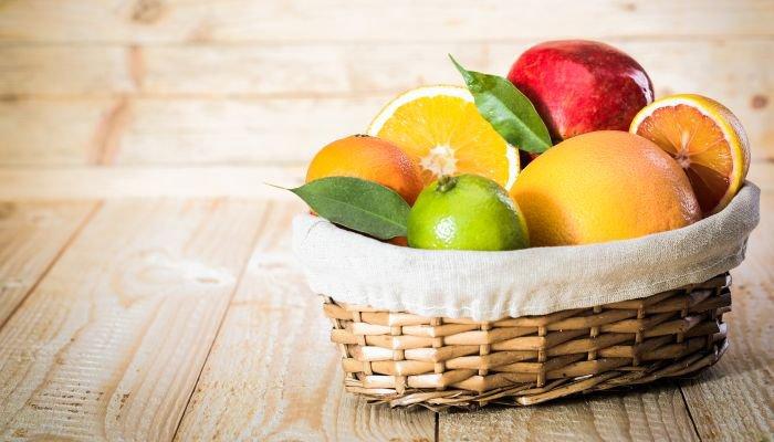 alimentos bons para a pele frutas