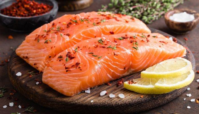 alimentos bons para a pele salmão