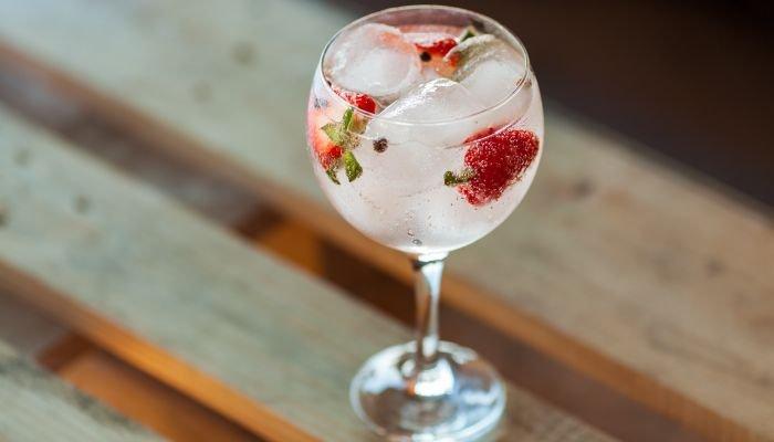 drinks com gin taça