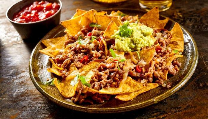 nachos receita