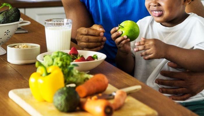 nutrição comportamental filho
