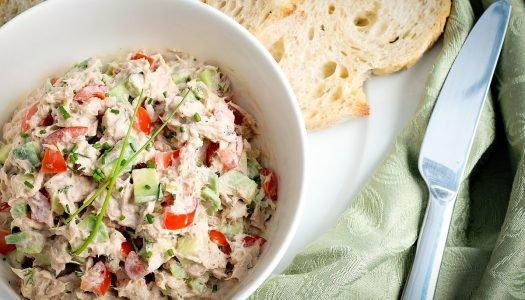 [Receita] Salada de atum