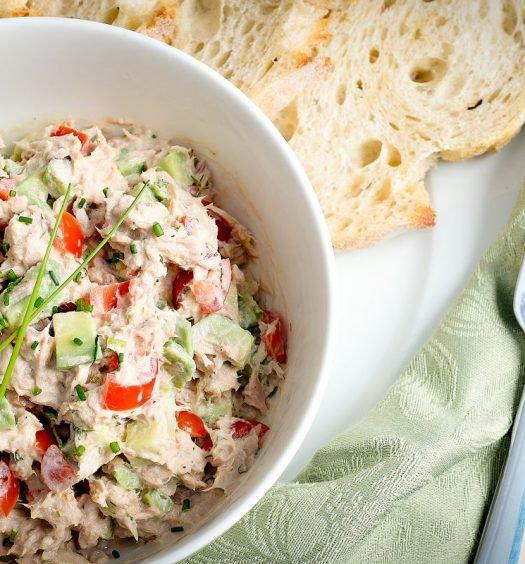 salada de atum receita