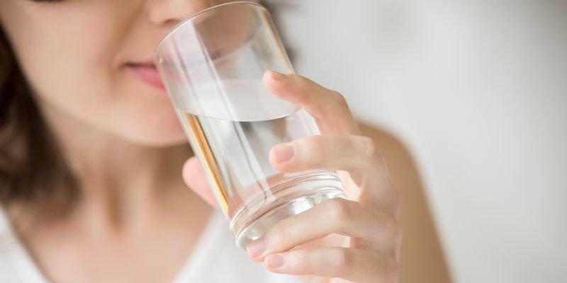 ter mais disposição água