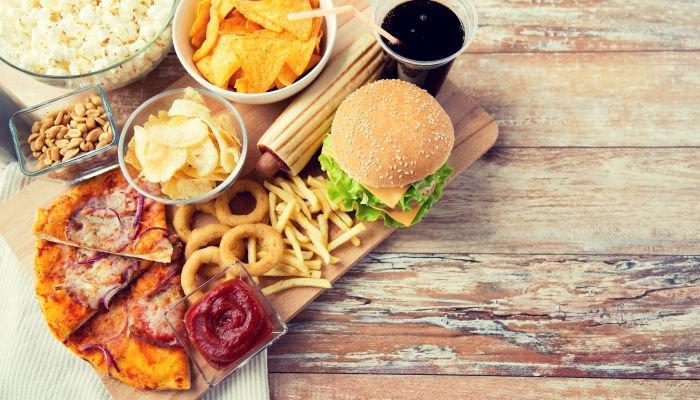 ter mais disposição fast food